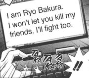YGO-056 Bakura communicates