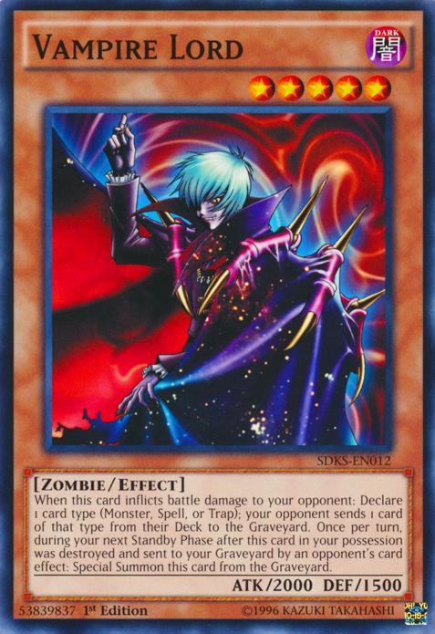 Card Tips Vampire Lord Yu Gi Oh Fandom Powered By Wikia