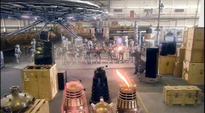 Cybermen Vs Daleks Torchood
