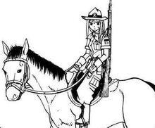 Nicole on horse