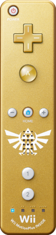 File:Gold Wii Remote Plus.png