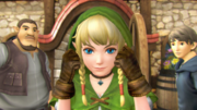 Hyrule Warriors Legends Linkle's Tale Villagers & Linkle (Cutscene)