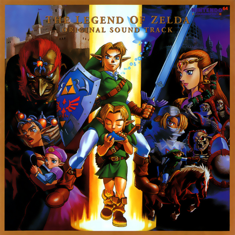 File:The Legend of Zelda - Ocarina of Time Original Soundtrack.png