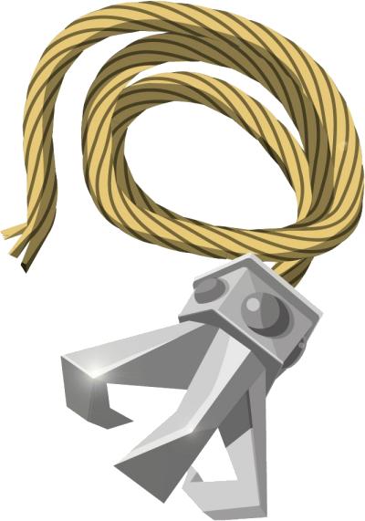 Image result for zelda grappling hook
