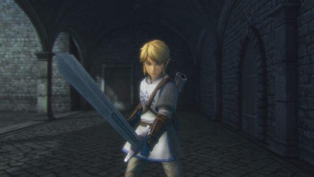 File:Link wielding Knight's Sword.jpg