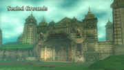 Hyrule Warriors Locations Sealed Grounds (Intro Cutscene)