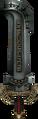 Twilight Princess Enemy Weapons Darknut Sword (Regular Darknuts).png