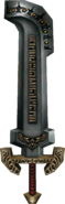 Twilight Princess Enemy Weapons Darknut Sword (Regular Darknuts)