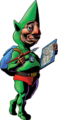 Tingle Artwork (Majora's Mask)