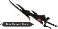 True Demon Blade