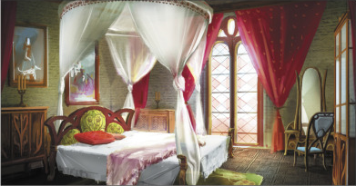 File:Hyrule Warriors Locations Zelda's Room (Concept Art).png