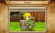 Hyrule Warriors Legends Tutorials Toon Link, Hero of Winds (Tutorial Bio Picture)