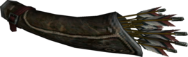Twilight Princess Ashei Ashei's Quiver (Render)