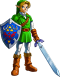 Link Artwork 1 (Ocarina of Time).png