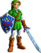 Link Artwork 1 (Ocarina of Time)