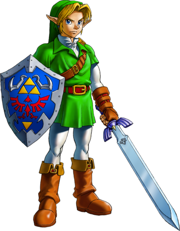 File:Link Artwork 1 (Ocarina of Time).png