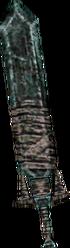 Twilight Princess Enemy Weapons Heavy Gibdo Sword (Render)