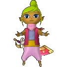 Hyrule Warriors Legends Tetra Standard Outfit (Wind Waker - Toon Zelda Recolor)