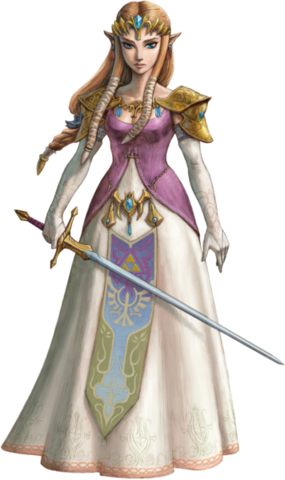 File:Twilight Princess HD Artwork Princess Zelda (Official Artwork).png