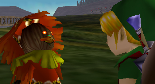 The Skull Kid Without Majora's