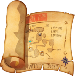 Dungeon Map (The Wind Waker)