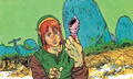 Link and a Secret Seashell.png
