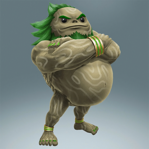 File:Hyrule Warriors Legends Darunia Standard Outfit (TWW Great Deku Tree Recolor - Master Wind Waker DLC).png