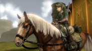 Hyrule Warriors Horse Twilight Epona (Victory Cutscene TP)