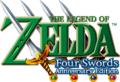 The Legend of Zelda - Four Swords Anniversary Edition (logo).png