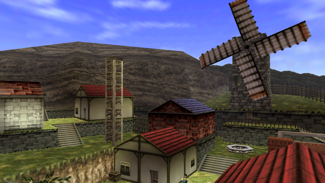 File:Kakariko Village (Ocarina of Time).png