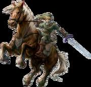Link and Epona (Twilight Princess)
