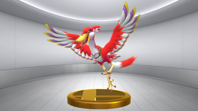 File:Super Smash Bros. for Wii U Crimson Loftwing (Skyward Sword) Crimson Loftwing (Trophy).png