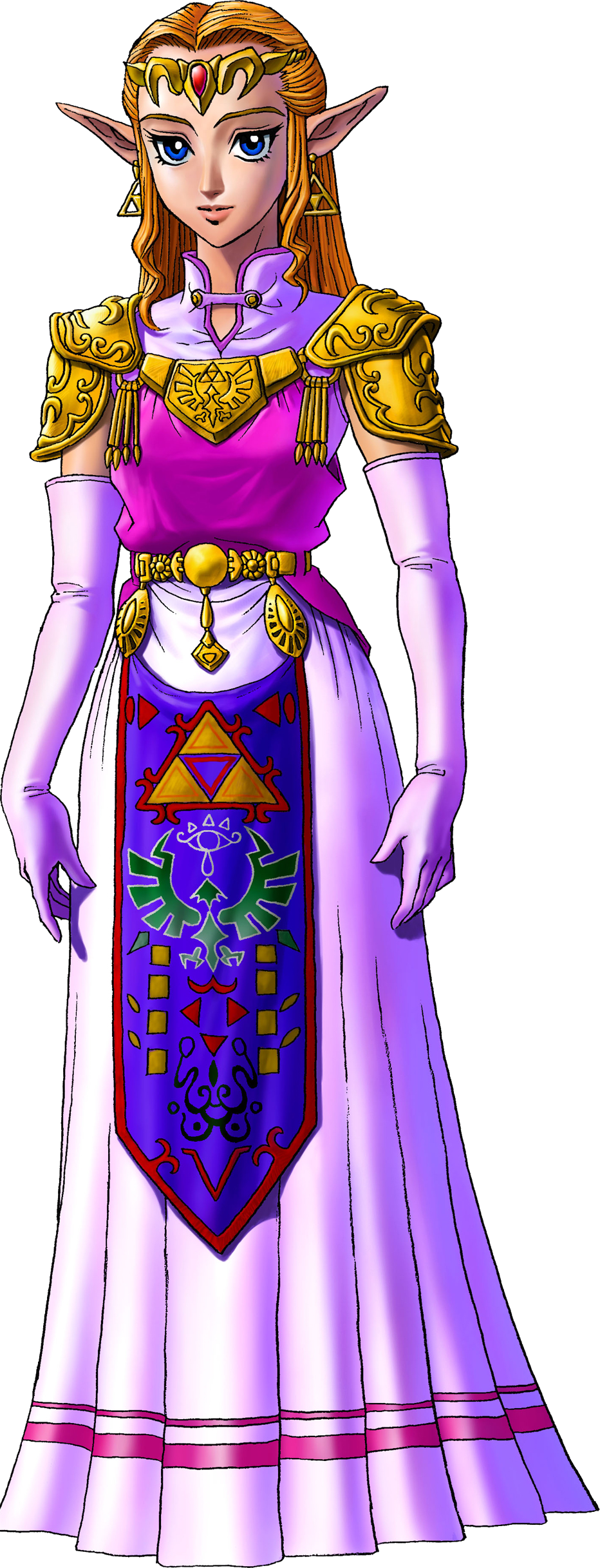 Image result for ocarina of time princess zelda png