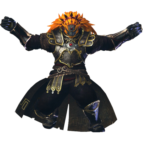File:Hyrule Warriors Ganondorf Standard Armor (Demise Recolor - Twilight DLC).png