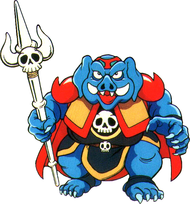 WHY DOES THE GANON IN THE ORIGINAL LEGEND OF ZELDA LOOKS LIKE THE