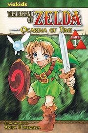 Ocarina of Time English Manga (Part 1)