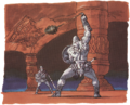 Ball and Chain Trooper Artwork 2 (Link's Awakening).png