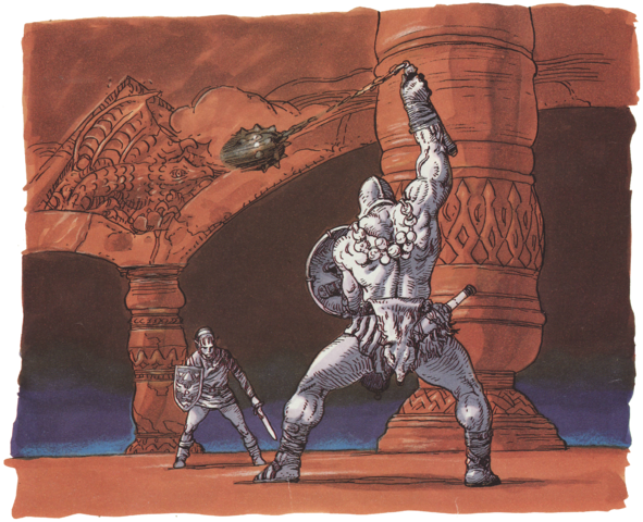 File:Ball and Chain Trooper Artwork 2 (Link's Awakening).png