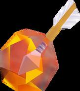 Ocarina of Time & Majora's Mask Arrows Fire Arrow (Render)