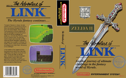 Archivo:Zelda II - The Adventure of Link (box).png