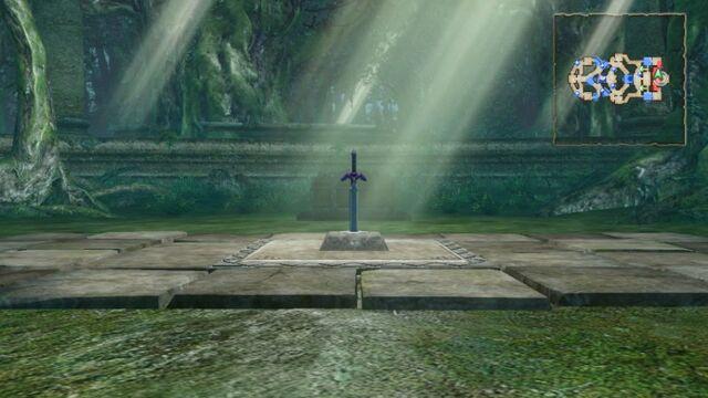 File:Master Sword and Pedestal of Time (Hyrule Warriors).jpg