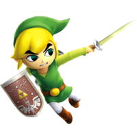 Toon Link Hero's Sword (Hyrule Warriors)