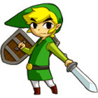 Link Artwork (Phantom Hourglass)