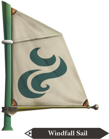 File:Hyrule Warriors Legends Sail Windfall Sail (Render).png