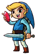Blue Link (Four Swords)