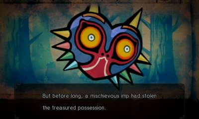 File:Hyrule Warriors Legends Linkle's Tale - The Girl in the Green Tunic Majora's Mask (Cutscene).png