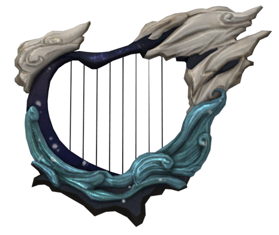 File:Hyrule Warriors Typhoon Harp (Render).png