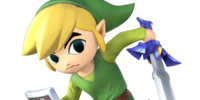 Toon Link/Super Smash Bros.