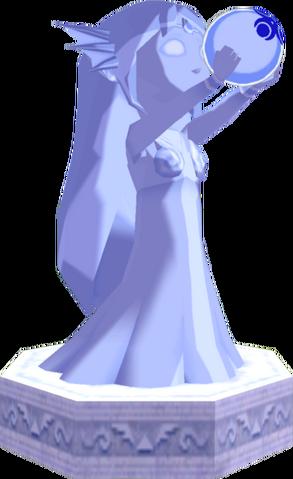 File:The Wind Waker Golden Goddess Statues Nayru's Statue (Render).png