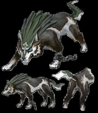 File:Twilight Princess Artwork Wolf Link (Concept Artwork).png
